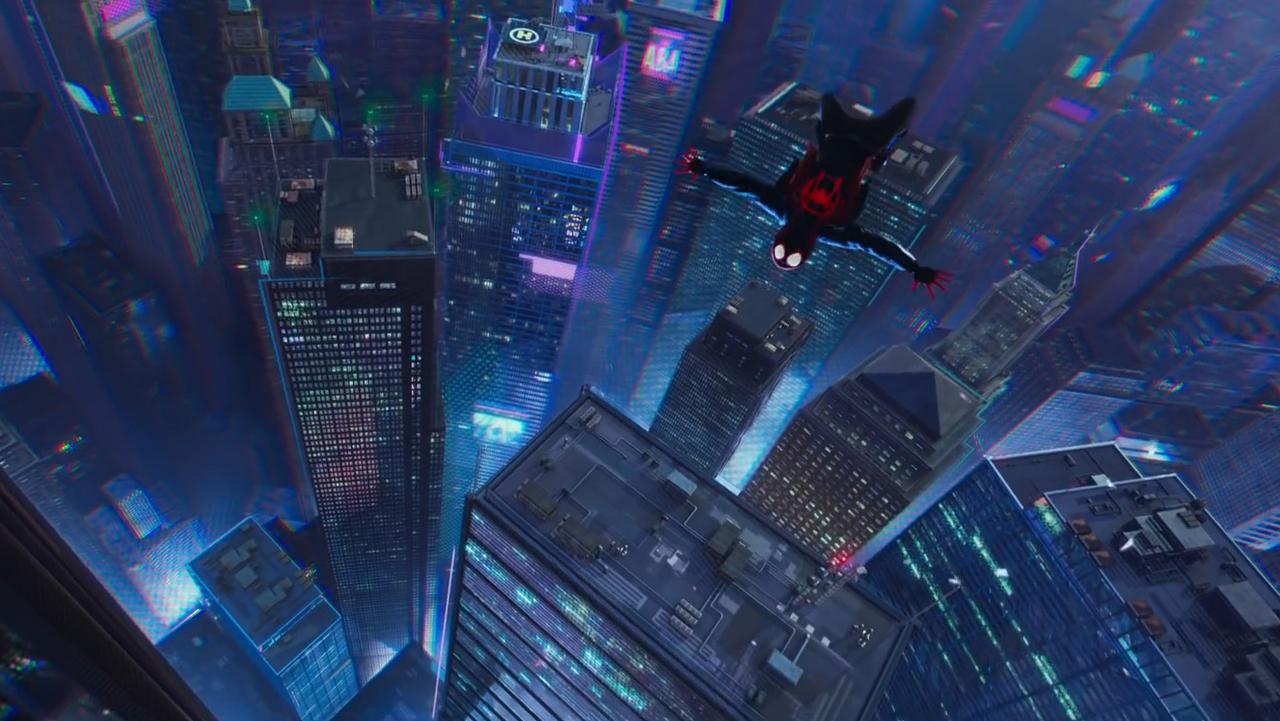 Майлз Моралес говорит сПаркером втизер-трейлере нового «Человека-паука»