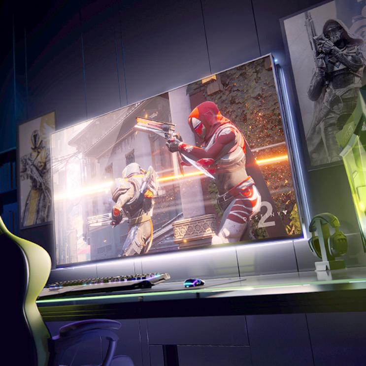 Nvidia показала экран для игроков