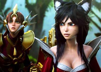 Снимок экрана трейлера League of Legends