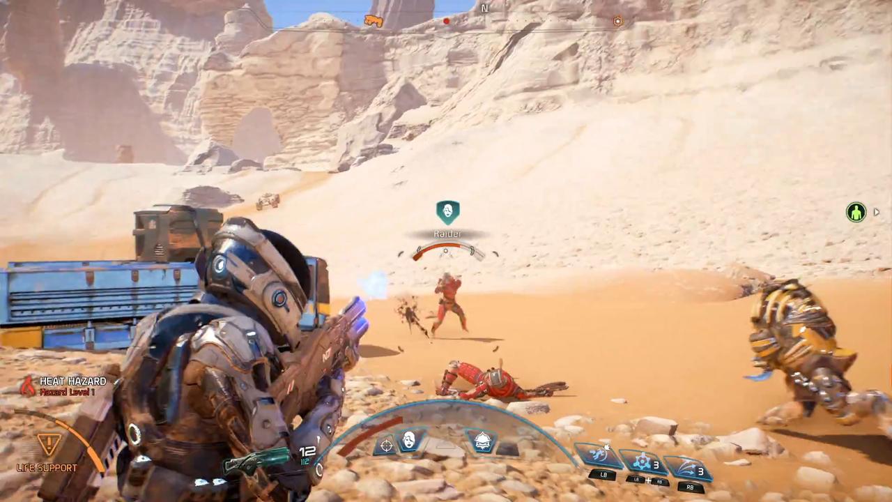 Andromeda, посвященный особенностям прокачки протагониста иего соратникам— Ролик Mass Effect
