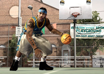 Скриншот NBA Street