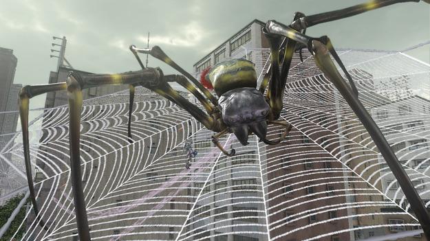 Вышел обновленный трайлер игры Earth Defense Force 2025