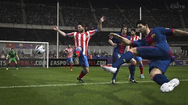 Игра FIFA 14 предельно применяет возможности консолей следующего поколения