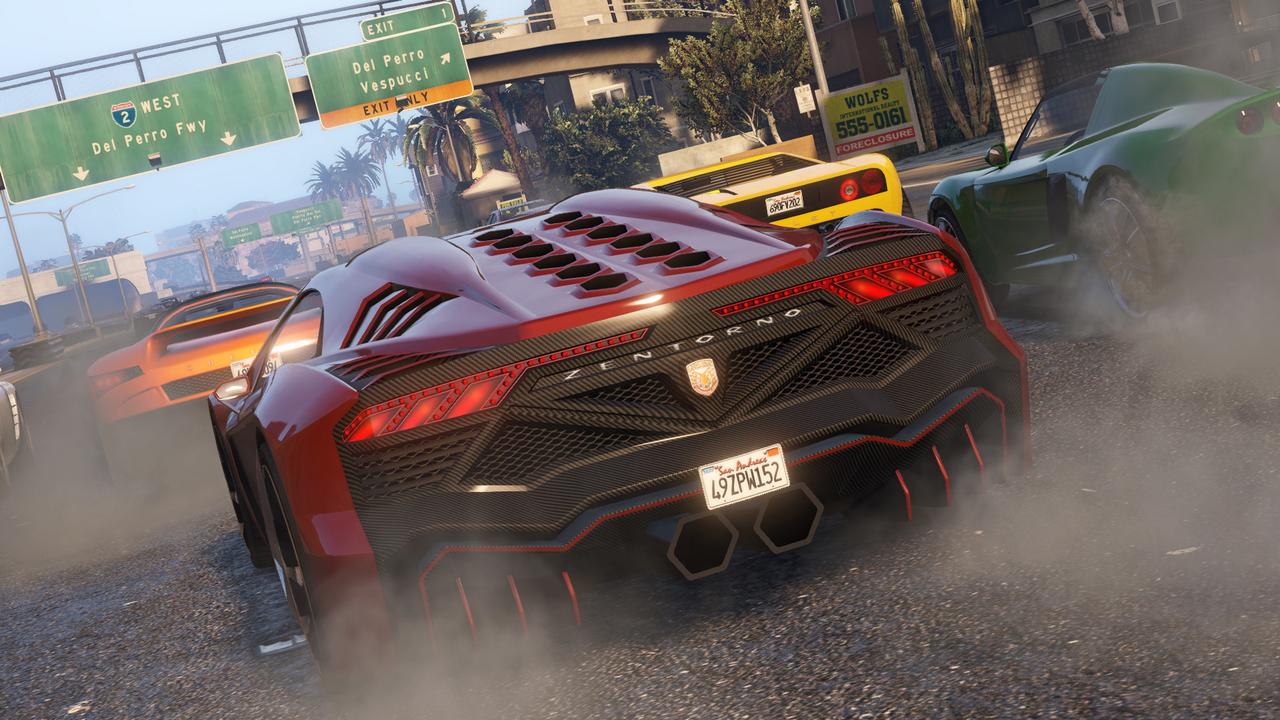 Список возможностей тюнинга машин GTA V пополнят с релизом новой версии игры