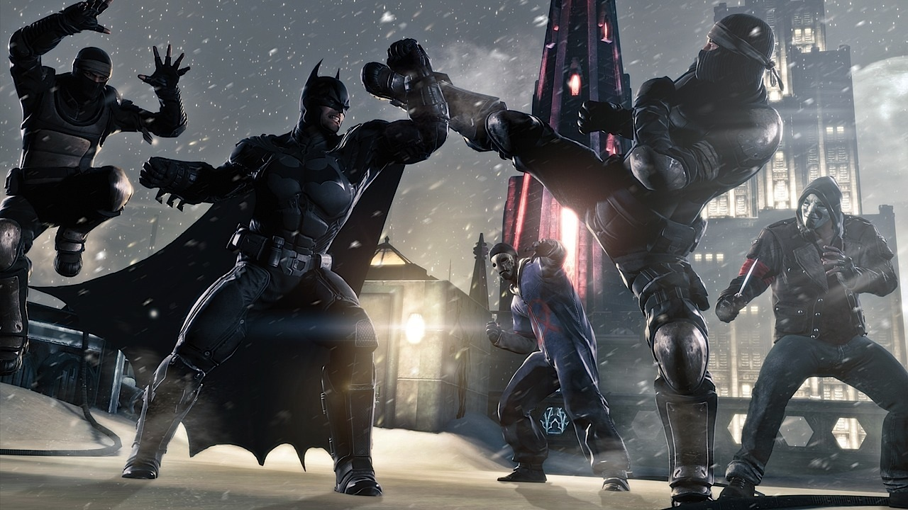 Batman arkham origins deathstroke hd wallpaper