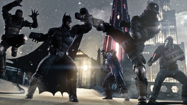 Warner Bros продемонстрировала 1-ое видео геймплея игры Batman: Arkham Origins