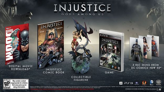 Анонсирована дата релиза игры Injustice: Gods Among Us