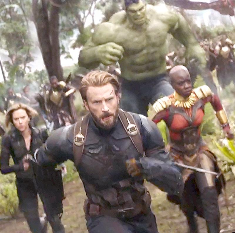 Трейлер новых «Мстителей» собрал за24 часа 230 млн. просмотров
