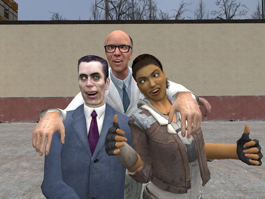 Garry's Mod - мод Half-Life 2, обладающий одиночной и