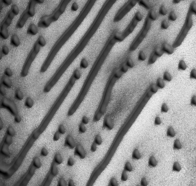 Уфологи размышляют озашифрованном послании надюнах Марса