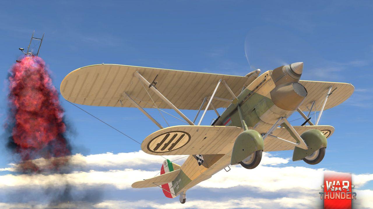 ВWar Thunder появится итальянская авиация