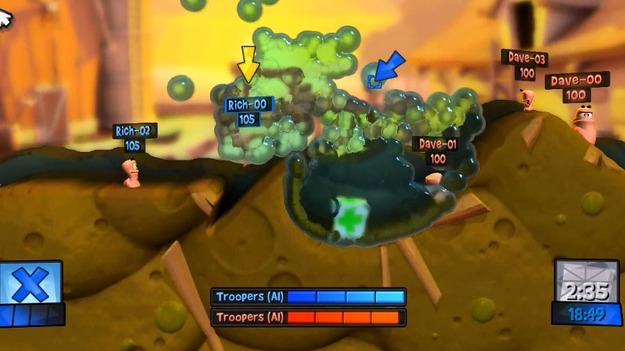 Опубликована новая серия дневников разработчиков игры Worms Revolution