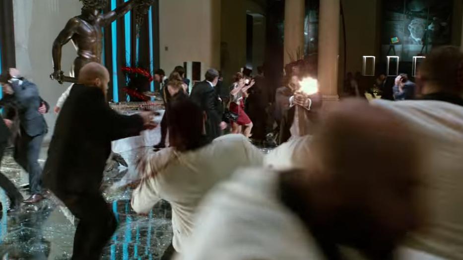 Вновом трейлере «Джона Уика— 2» показали Нео иМорфеуса из«Матрицы»