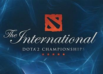 Логотип турнира The International