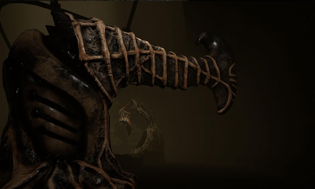 Новый реалистичный ужастик Scorn заставит игроков понервничать