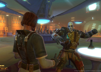 Снимок экрана Star Wars: The Old Republic