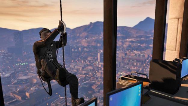 Три главных героя игры GTA V позволили разработчикам представить уникальный геймплей и сюжет