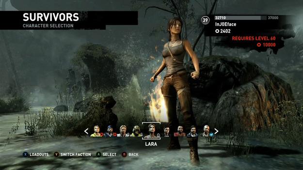 Размещено 1-ое видео мультиплеера игры Tomb Raider