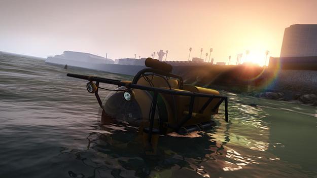 Игроки GTA V сумеют найти старую культуру в океанских безднах