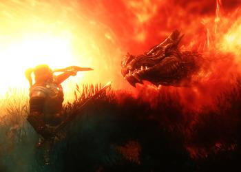 Снимок экрана The Elder Scrolls V: Skyrim