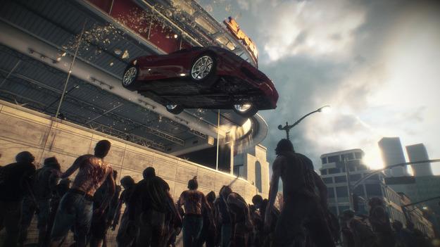 Игра Dead Rising 3 будет открытым цельнотянутым миром, где любой объект будет ружьем