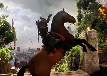 Снимок экрана ролика Dragon Age: Inquisition