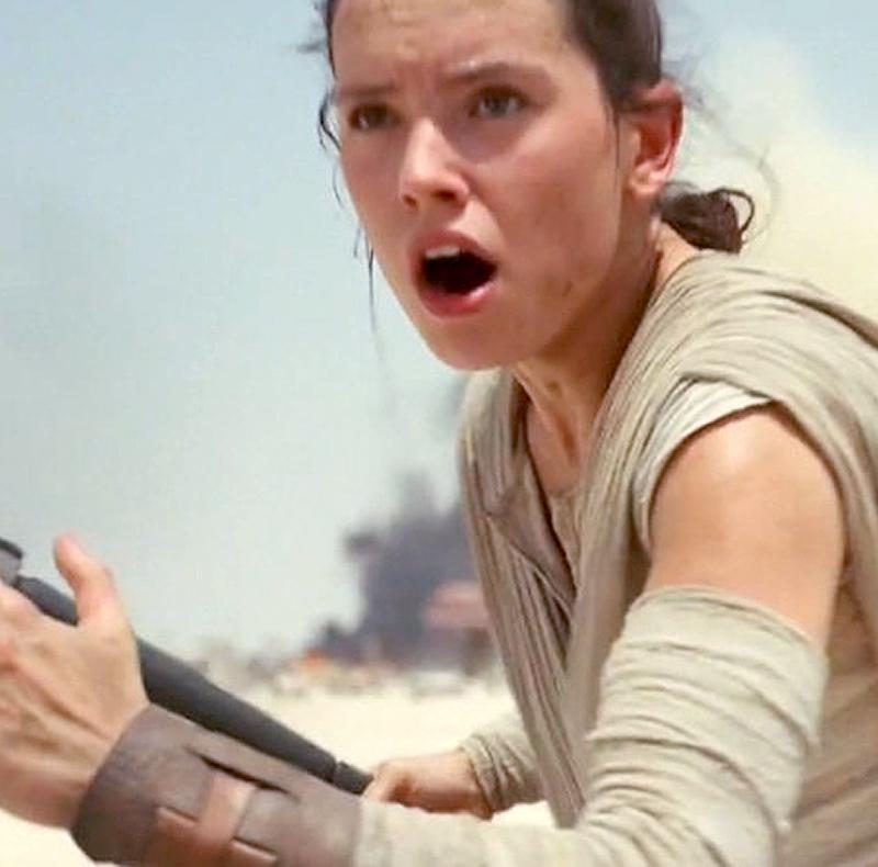 «Звездные войны: Последние джедаи» включают эмоциональную сцену сРей иЛеей