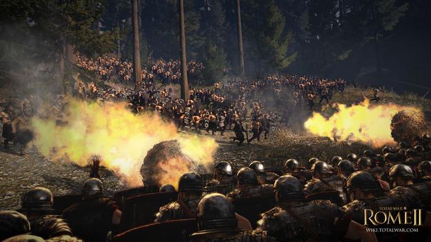 Игра Total War: Rome II будет на свет 3 октября