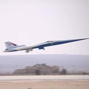 Lockheed Martin и NASA показали видео нового сверхзвукового пассажирского самолета