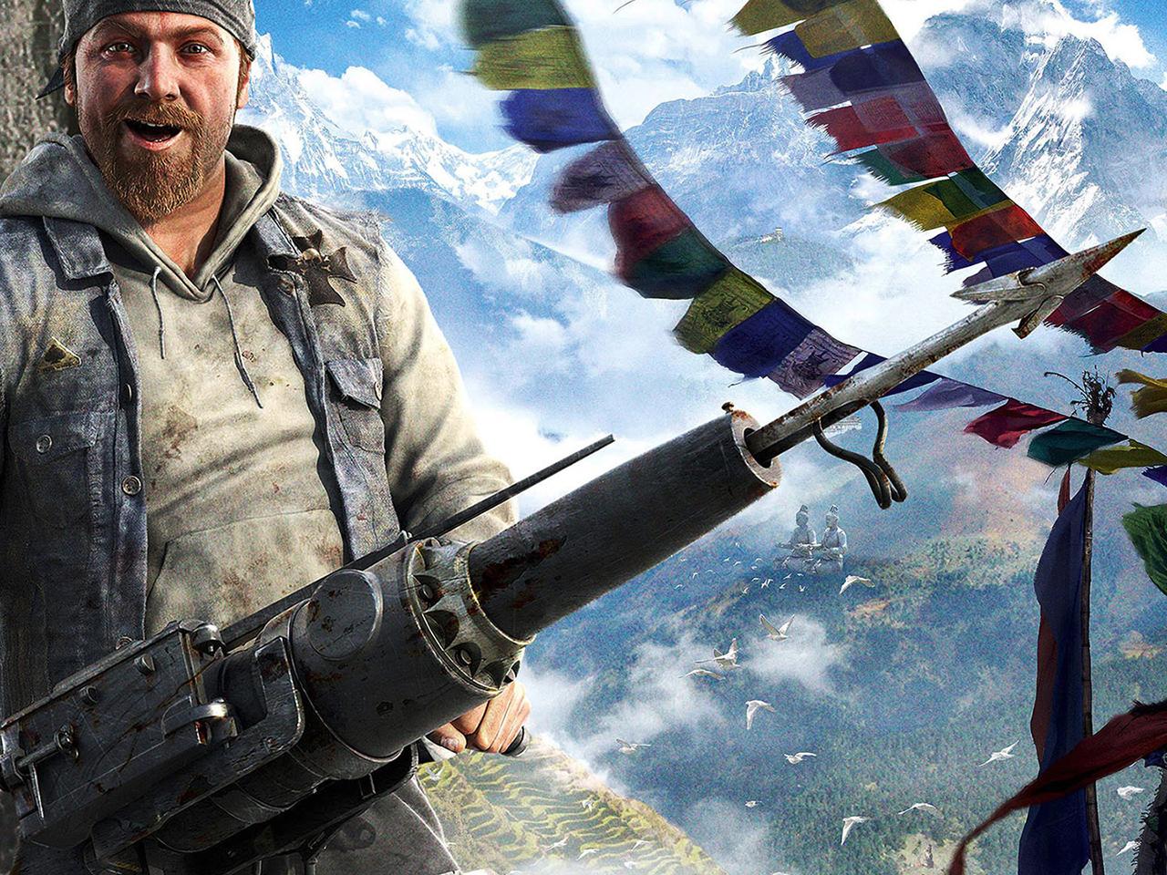 Far Cry 4 Full HD Wallpaper and Hintergrund  1920x1080