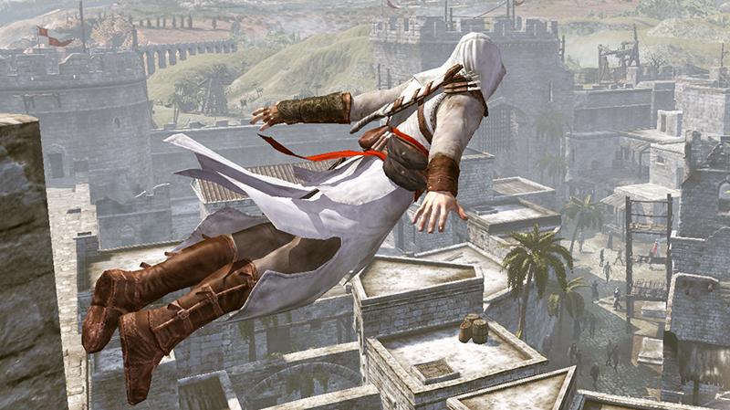 Как сделать прыжок веры в ассасине 698