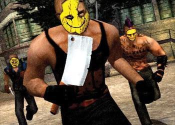 Снимок экрана Manhunt