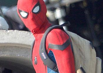 В сеть утекли первые кадры со съемок нового фильма про Человека-паука