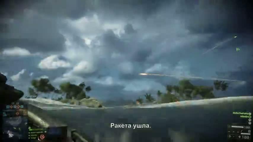 Battlefield 4 трейлер русском