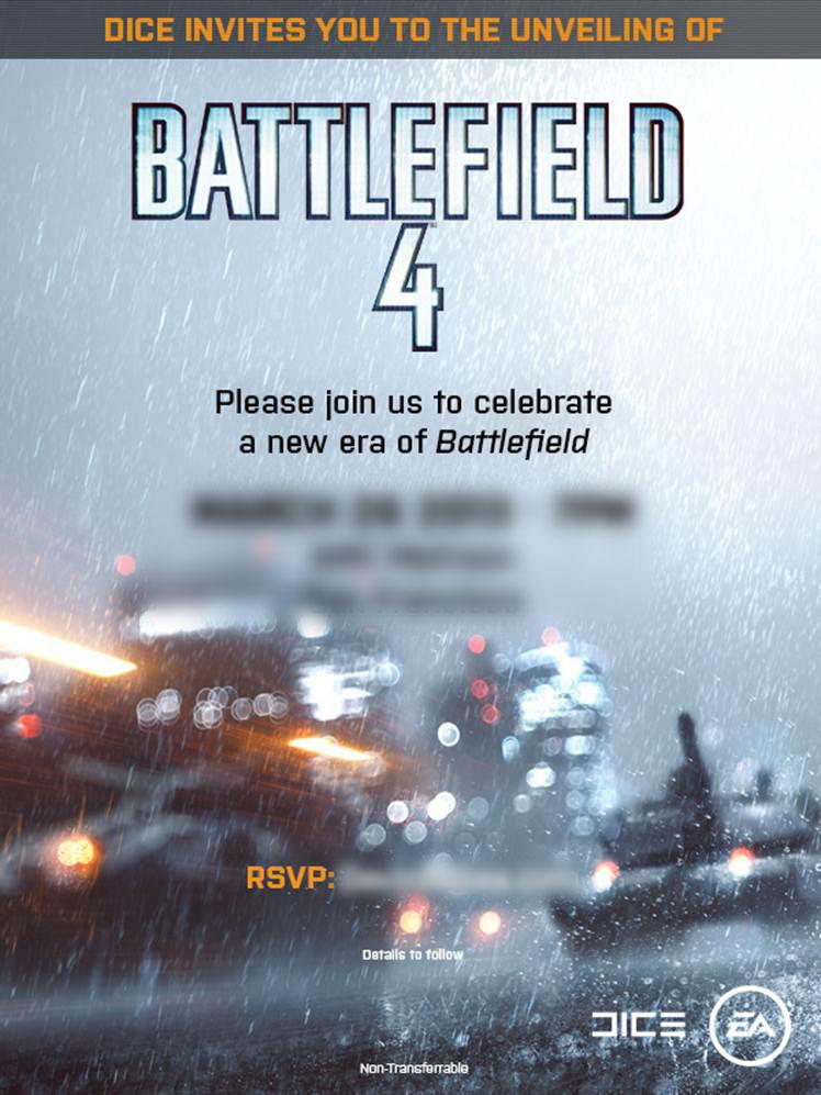 ЕА официально представит игру Battlefield 4 в середине мая