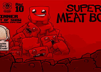 Концепт-арт Super meat Boy