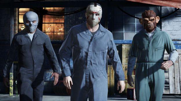 Rockstar делает игрокам GTA V раскрученную технологию планирования ограблений