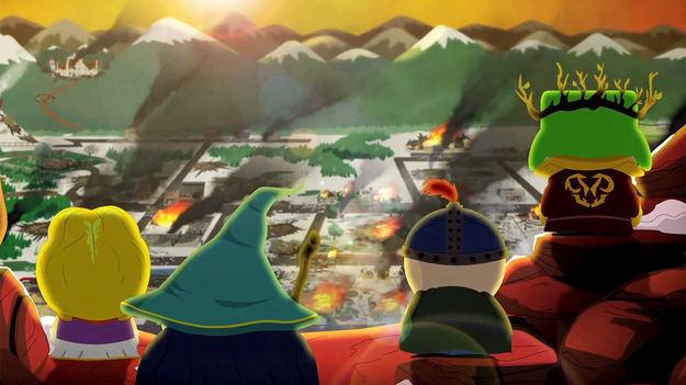 Обновленный трайлер South Park: The Stick of Truth сообщает о нашествии противников на Саус Парк