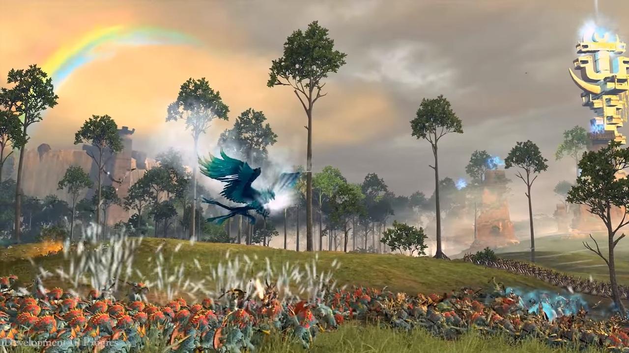 11 мин. игрового процесса Total War Warhammer 2 завысших эльфов