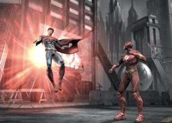 Скриншот Injustice: God Among Us