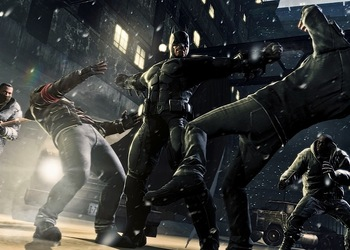 Бокс-арт Batman: Arkham Origins