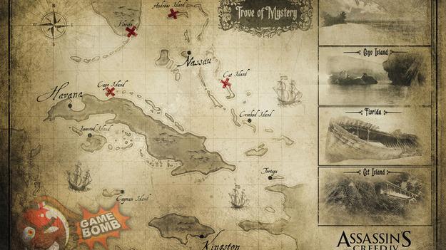 Размещена диаграмма игрового мира Assassin'с Creed IV: White Flag