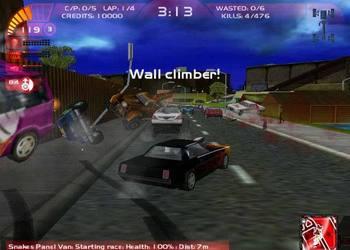 Скриншот Carmageddon TDR 200