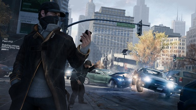 Игровой мир Watch Dogs будет отвечать на наличие и действия игроков динамически