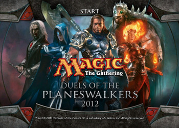 Скриншот Magic: The Gathering – Duels of the Planeswalkers 2012