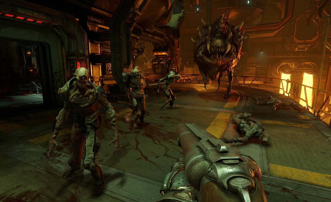 Doom (2016) PC - Скриншот 3