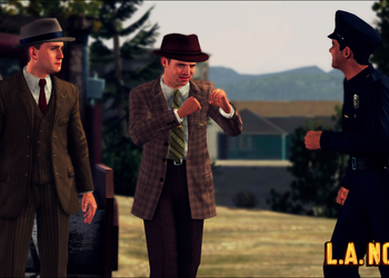 Снимок экрана L.A. Noire