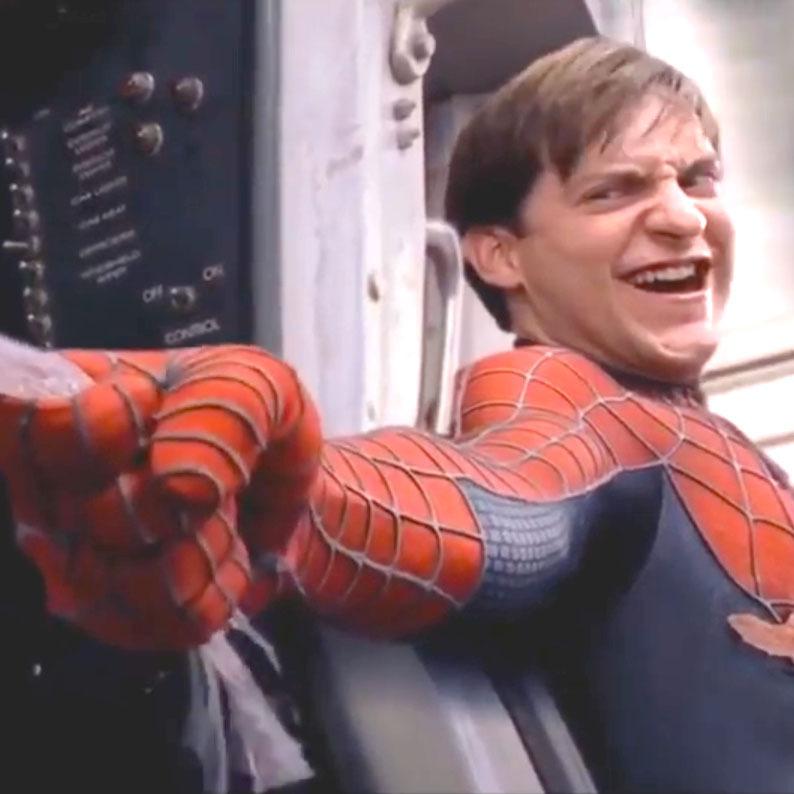 видео человек паук 3 как чёрным пауком