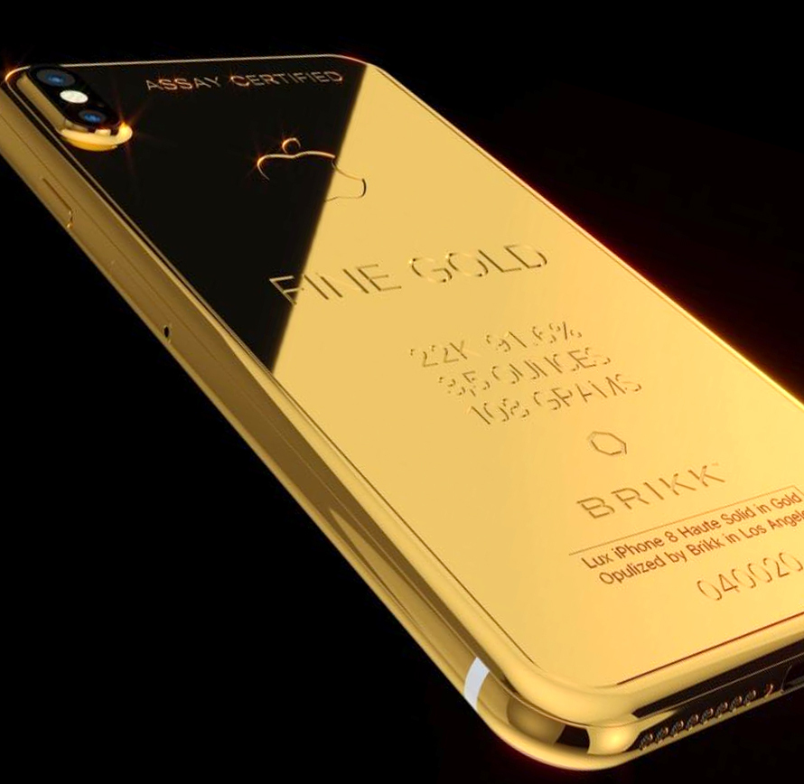Создан iPhone Xиззолота