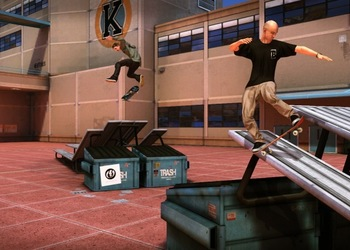 Скриншот Tony Hawk Pro Skater HD